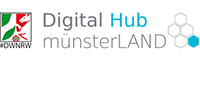 Signet 'Digital Hub münsterLAND'