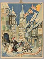 Alte Weihnachtskalender.Stadt Münster Stadtmuseum Vorschau Rückblick